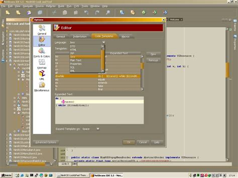 eclipse theme for netbeans nimrod look and feel