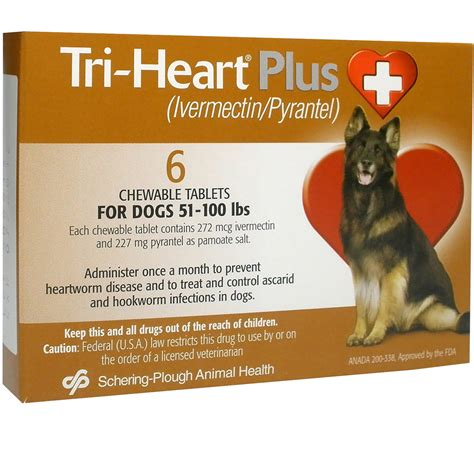 tri for dogs tri plus for dogs 51 100 lbs 6 mnth