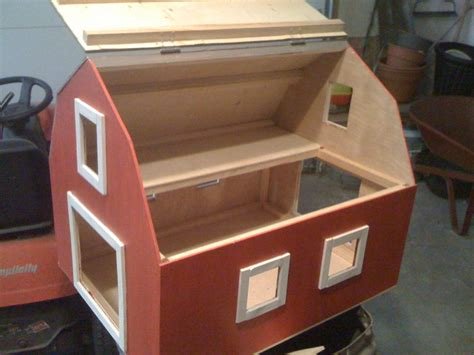 barn toy box woodworking plans plans