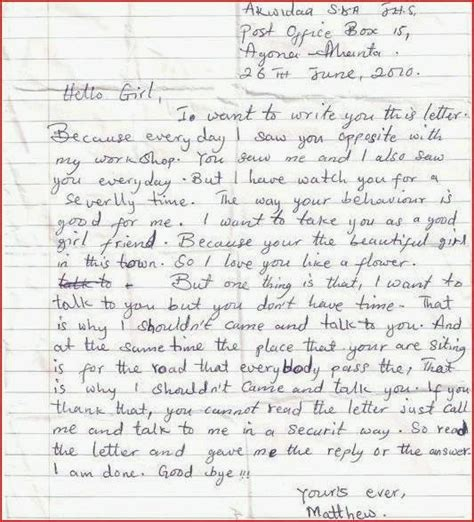 The Best Letter