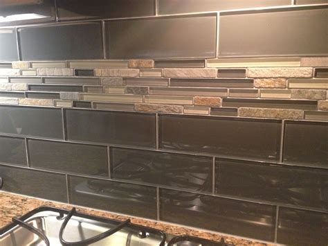 Cabinet Hecke by Kitchen Backsplash Silver Aspen Mosaic With Glass Tile I