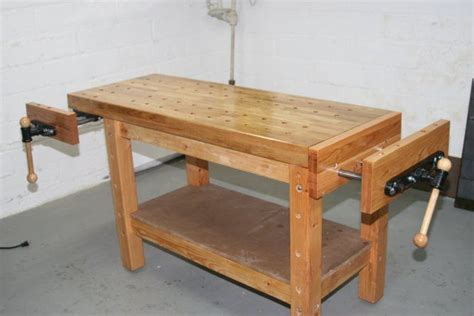 building  real woodworkers workbench  steps