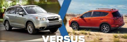 Subaru Salt Lake 2016 Subaru Forester Vs 2016 Toyota Rav4 Model Comparison