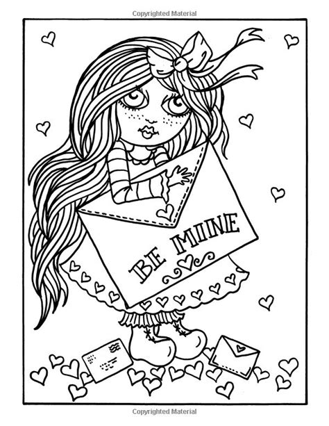 little sweethearts little sweethearts by deborah muller 5234 best adult coloring pages images on pinterest