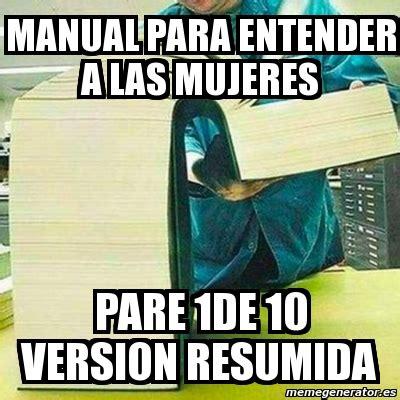 para entender la fotografa meme personalizado manual para entender a las pare 1de 10 version resumida 2702850