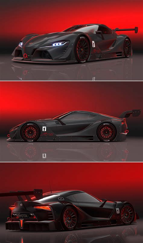 toyota visio sleek toyota ft 1 vision gt is darth maul inspired
