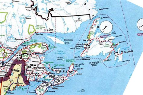 map east usa and canada map of eastern canada my