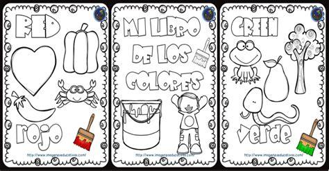 libro los colores mi libro de los colores para colorear imagenes educativas
