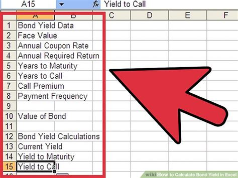 Calculator Yield | how to calculate bond yield in excel 7 steps with pictures