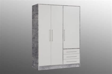 kleiderschrank betonoptik kleiderschrank jupiter betonoptik wei 223 sb m 246 bel discount