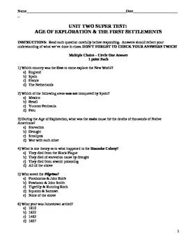 The Age Of Exploration Worksheet by Age Of Exploration Test Review Sheet And Jeopardy By