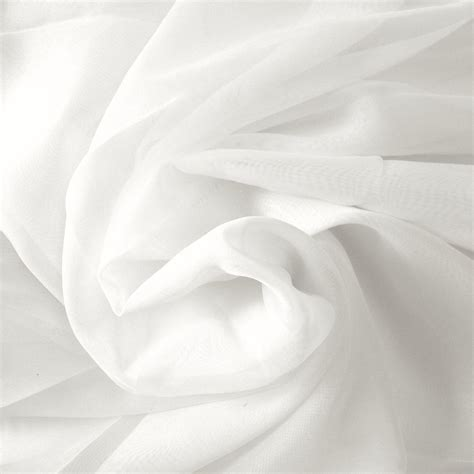 sheer fabric white sheer voile fabric 118 wide curtain drapery and