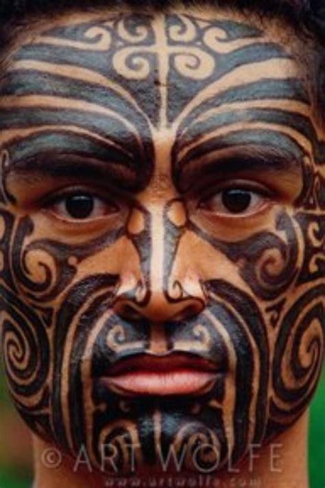 polynesian face tattoo designs maori s moko cool