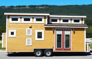 nooga blue sky tiny house on wheels thow small homes