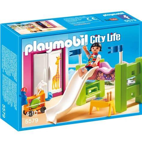 playmobil chambre enfant playmobil 5579 chambre enfant avec lit achat vente