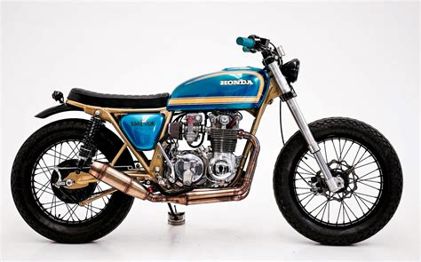 honda custom honda cb550 scrambler by herencia custom garage