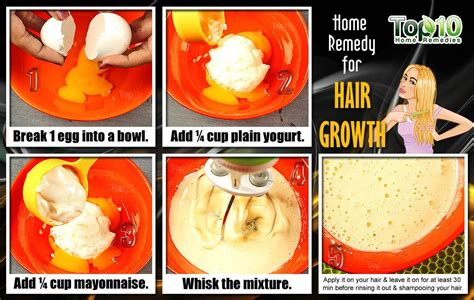 Hair Growth Home Remedy by Home Remedies For Hair Growth Top 10 Home Remedies
