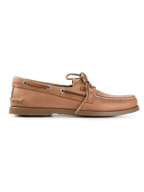 deck shoes for sperry top sider authentic original deck shoes in brown