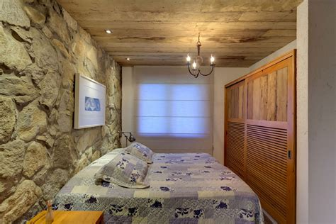 Kitchen Design Rustic by Bedroom Stone Wall Lighting Charming Rustic House In