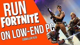 will fortnite run on a laptop how to play any on low end pc with no lag