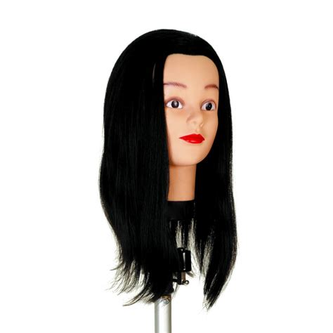 Human Hair Mannequin Heads by Human Hair Mannequin