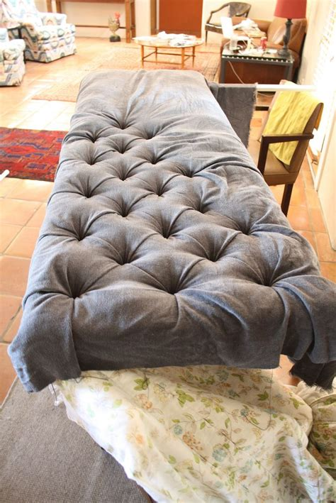 Diy Button Tufted Headboard Flickr Photo Sharing