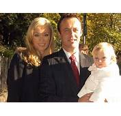 Victoria Smurfit With Husband Doug And Their Daughter Evie Was