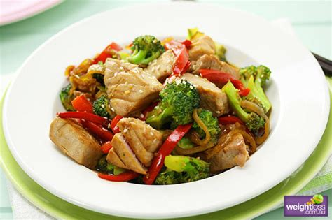 healthy tuna recipes to lose weight tuna and broccoli stir fry
