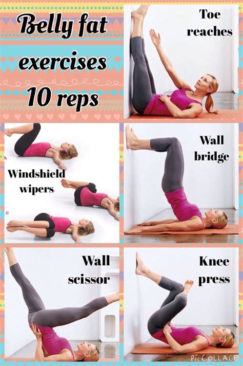 Losing Weight For Your Big Day by To Lose Belly Do The Exercises Shown In The Pic 10
