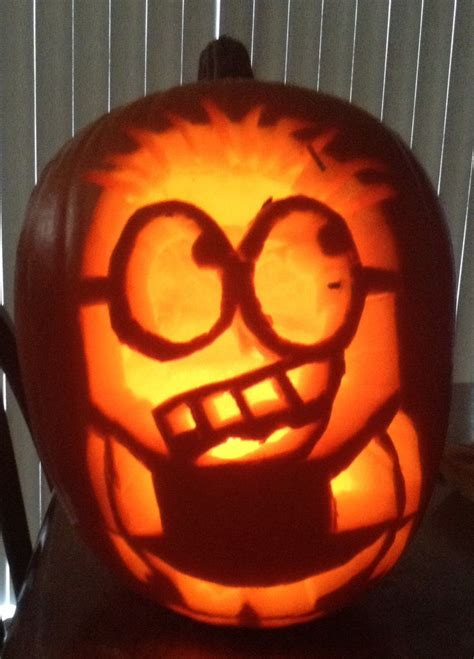 minion pumpkins minion pumpkin