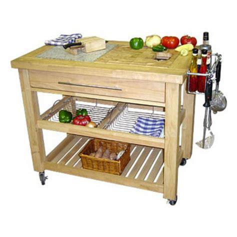Kitchen Prep Cart Pro Chef 40 1 2 W Food Prep Station In Espresso