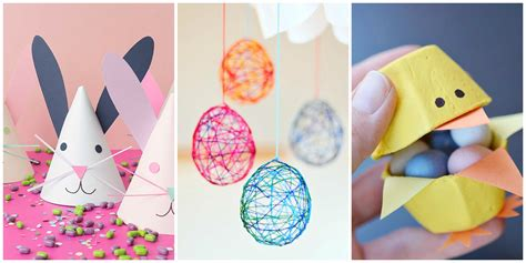 easter ideas 21 fun easter crafts for kids easter art projects for