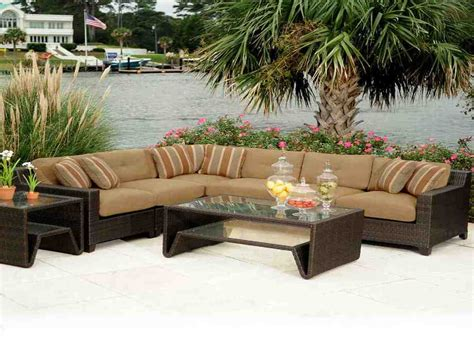 Brown Wicker Patio Furniture Decor Ideasdecor Ideas Brown Wicker Patio Furniture