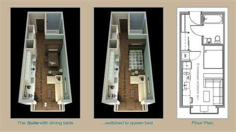 Furniture Floor Plans by What It S Like To Live In A Modern Micro Apartment Tested