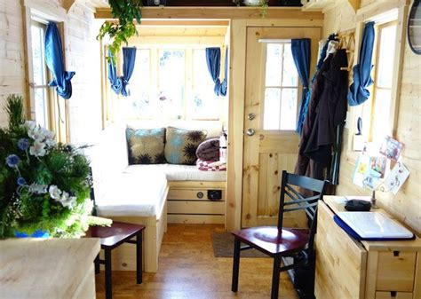 tiny house living room grid living on 225 square tiny house small