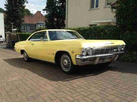 Auto Kaufen Zulassung by Chevrolet Impala Coupe 1965 H Zulassung 90000