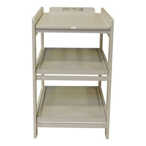 removable changing table comfort changing table removable shelves light grey quax