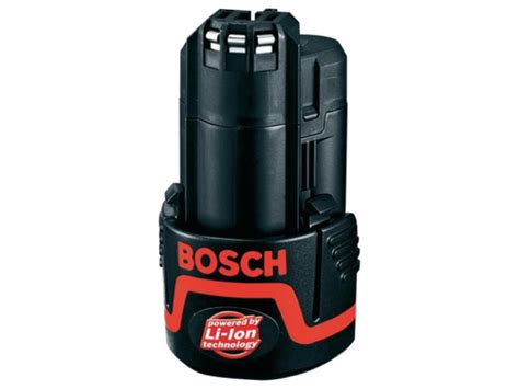 Bosch Battery 10 8 Li Ion bosch 108blue20 10 8v 12v 2 0ah li ion battery
