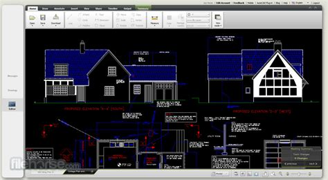 Floor Plan Cad Software by Autocad 360 Web View Edit And Share Dwg Drawings
