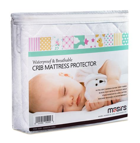 crib waterproof mattress protector crib mattress protector