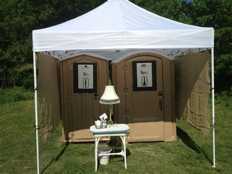 portable bathroom rentals for weddings wedding almost like home almost how to decorate a