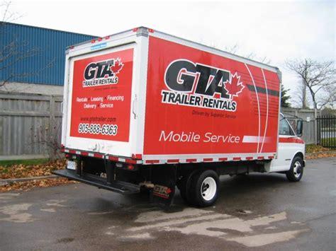 gta appartments gta trailer rentals inc cambridge on 1295 dickie