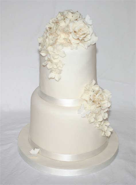 Wedding Cakes Simple But by Simple Two Tier Wedding Cake Wedding Ideas