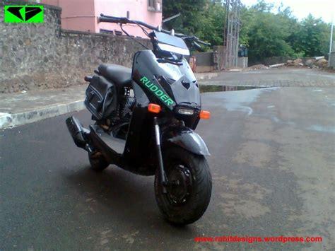 Modification Honda Dio by Honda Dio Modified Rudder India Modifiedx