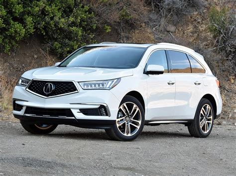 white acura suv ratings and review 2017 acura mdx ny daily news
