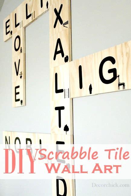 diy scrabble letters diy scrabble tile wall decorchick
