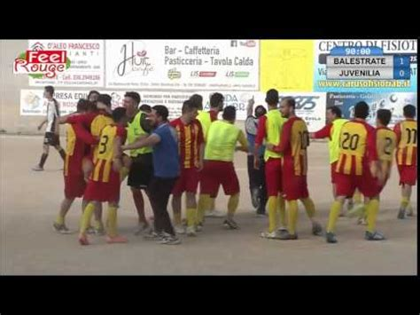 don rizzo balestrate balestrate juvenilia le formazioni il gol e la festa