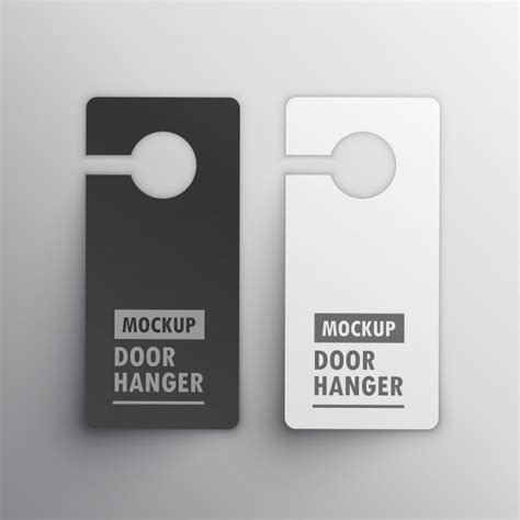 door hanger printing cheap custom printed door
