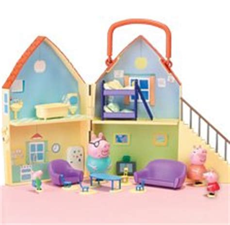 Peppa Pig Doll House by Character Options Peppa Pig Deluxe Playhouse Co