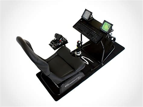 Flight Simulator Chair by Speedmaster Flight Mikeshouts